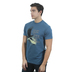 Kerusso, Isaiah 40:31 Eagle (Spanish), Men's Short Sleeve T-shirt, Denim Blue, Small