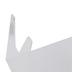 Holy Land Gifts, Large Acrylic Shofar Holder, Acrylic, 6 x 3 x 4 Inches