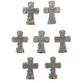 Ganz, Beautiful Blessings Cross, Assortment, 2 3/4 x 2 Inches