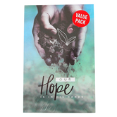 Salt & Light, Our Hope Is In His Hands Gospel Tracts, 5 1/4 x 3 1/2 inches, Set of 50 Tracts