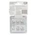 Command, Small Wire Hooks, Clear, Pack of 9