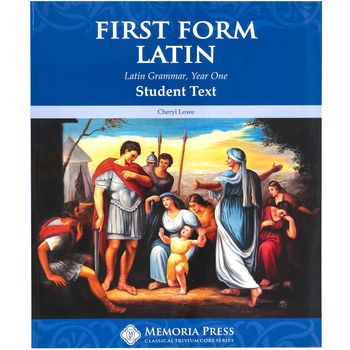 Memoria Press, First Form Latin Text
