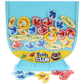Blue Orange Games, Fish Club Game, 2 Players, Ages 5 & Older