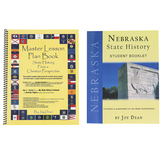 A Helping Hand, State History from a Christian Perspective Nebraska Set, Grades 3-12