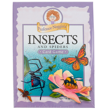Outset Media Games, Professor Noggin's Insects and Spiders Card Game, Grades 2-Adult