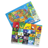 Play Monster, 4 Pack of Puzzles, 25 Pieces Each