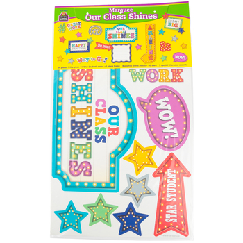 Teacher Created Resources, Marquee Our Class Shines Bulletin Board Set, 54 Pieces