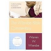 Wiersbe Bible Commentary, Abridged--2 Volumes with CD-ROM