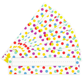 Renewing Minds, Lotsa Dots Nameplates, Multi-Colored, 9.25 x 2.5 Inches, 36 Pack