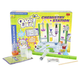 Thames & Kosmos, Ooze Labs Chemistry Station Kit, 57 Pieces, Ages 6 & Older