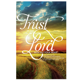Salt & Light, Trust In The Lord Church Bulletins, 8 1/2 x 11 inches Flat, 100 Count