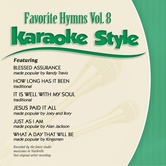 Favorite Hymns Volume 8, Karaoke Style, As Made Popular by Various Artists, CD+G