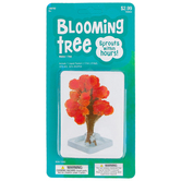 Blooming Tree Kit, 4-5 Inches, Non-Toxic, Ages 5 and Up