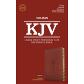 KJV Personal Size Reference Bible, Large Print, Imitation Leather, Thumb Indexed, Multiple Colors