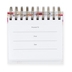 DaySpring, What's True About You Perpetual Calendar, Paper, 5-1/2 x 5-1/4 x 1-1/4 inches