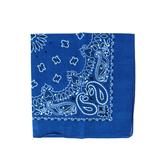 Fashion Bandana, Paisley Print, Cotton, Multiple Colors Available, 22 x 22 Inches, 1 Piece