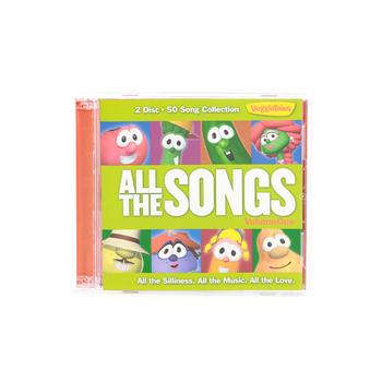 VeggieTales, All The Songs, Volume 1, by VeggieTales, 2 CD Set