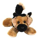 Aurora, Mini Flopsies, Shep the German Shepherd Dog Stuffed Animal, 8 inches