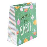 Renewing Faith, Peace on Earth Medium Gift Bag, 11 1/2 x 9 1/2 x 4 1/2 inches