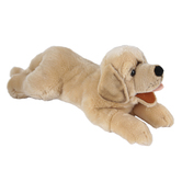 The Puppet Company, Yellow Labrador Playful Puppy Puppet, 10 x 7 x 17 inches