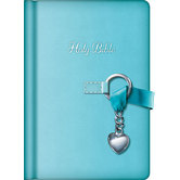 NKJV Simply Charming Bible, Hardcover, Blue
