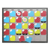 Isabella Collection, Customizable Calendar Bulletin Board Set, Multi-Colored, 107 Pieces
