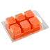 D&D, Tangerine and White Musk Wickless Wax Melt, Orange, 2 1/2 ounces