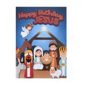 Happy Birthday Jesus Coloring Book, Multi-Colored