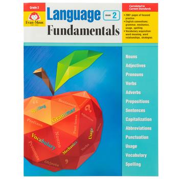 Evan-Moor, Language Fundamentals Teacher Reproducible Book, Paperback, 272 Pages, Grade 2