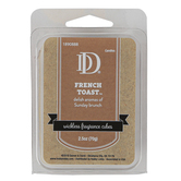 D&D, French Toast Wickless Fragrance Cubes, Tan, 2 1/2 ounces