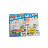 Melissa & Doug, Alphabet Activity Pad With Stickers, 20 Pages, Ages 4 and up