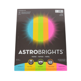 Neenah, Astrobrights, Bright Paper, Assorted, 100 pack