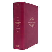 NLT Life Application Study Bible, Third Edition, Large Print, Imitation Leather, Berry