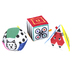 Manhattan Toy Company, Wimmer Ferguson Mind-Shapes, 1 Each of 3 Designs, 4 inches Each