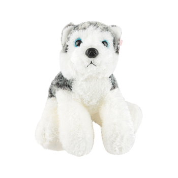 Aurora, Mini Flopsies, Mush the Husky Dog Stuffed Animal, Ages 3 and Older, 8 inches