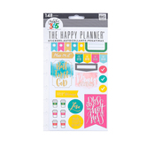 MAMBI, Happy Planner Faith Stickers, Watercolor, 148 stickers