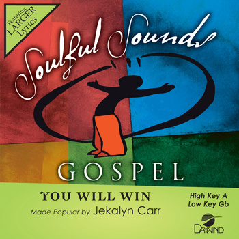 You Will Win, Accompaniment Track, As Made Popular by Jekalyn Carr, CD