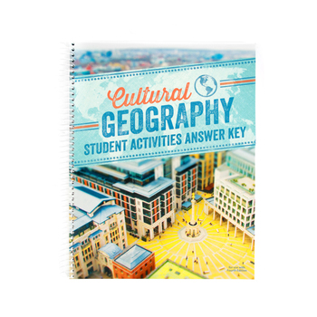 BJU Press, Cultural Geography Activities Manual Answer Key, 4th Edition, Grade 9