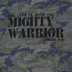 NOTW, Judges 6:12 The Lord Is With You Mighty Warrior, Kid's Short Sleeve T-shirt, Vintage Camo, 3T