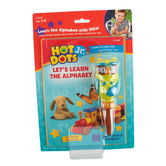 Educational Insights, Hot Dots Jr. Let's Learn the Alphabet Interactive Book & Pen Set, 2 Pieces