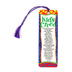 Dicksons, Kid's Creed Tassel Bookmark, 2 x 6 inches