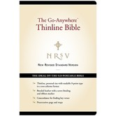 NRSV The Go-Anywhere Thinline Bible, Bonded Leather, Black