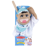 Melissa & Doug, Doctor Puppet, 15 x 5 x 6 1/2 inches, Ages 3 and Older