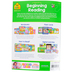 School Zone, Beginning Reading Deluxe Edition Workbook, Paperback, 64 Pages, Grades 1-2