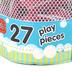 Melissa & Doug, Alphabet Tub Stickables Soft Shaped Bath Toys, 27 Pieces