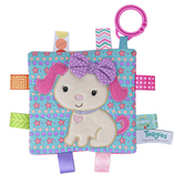 Mary Meyer, Taggies Crinkle Me Sister Puppy, 6 1/2 x 6 1/2 inches