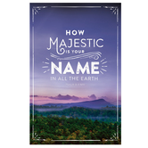 Salt & Light, How Majestic Is Your Name Church Bulletins, 8 1/2 x 11 inches Flat, 100 Count