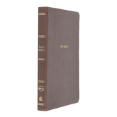 NKJV Thinline Reference Bible, Large Print, Imitation Leather, Multiple Colors Available