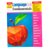 Evan-Moor, Language Fundamentals Teacher Reproducible Book, Paperback, 272 Pages, Grade 3