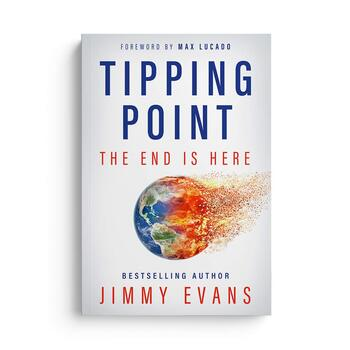 Tipping Point: The End is Here, by Jimmy Evans, Paperback